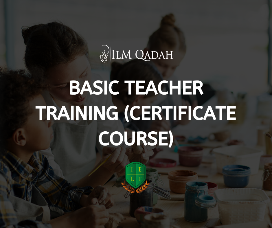 Teachers' Training Certificate – Beginner Level