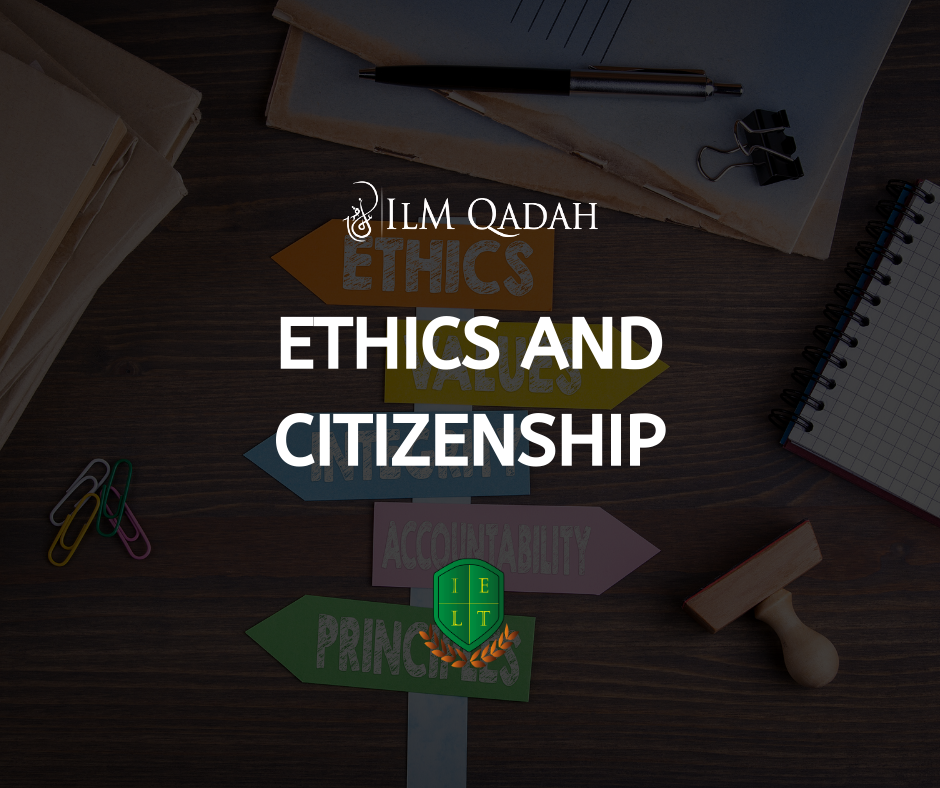Ethics and Citizenship